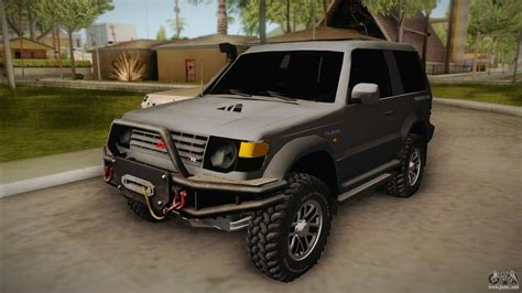 mitsubishi pajero mitsubishi pajero 3 door off road for gta san andreas