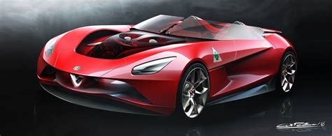 Alfa Romeo 6c by Stunning Alfa Romeo 6c Vision Gran Turismo Study Will