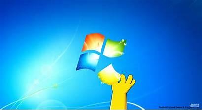 Desktop Simpson Windows Homer Apple Location Wallpapers