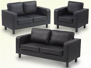 Sofas 3 2 : great value leather box sofa set 3 2 1 only for 275 black in walthamstow london gumtree ~ Indierocktalk.com Haus und Dekorationen