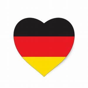 Deutschland Flagge Bilder : deutschland flagge herz aufkleber zazzle ~ Markanthonyermac.com Haus und Dekorationen