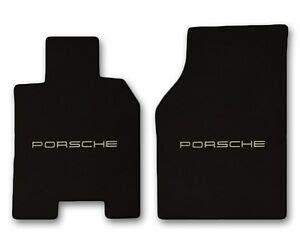 Porsche 944 Carpet by 1986 1991 Porsche 944 2pc Black Carpet Floor Mats With