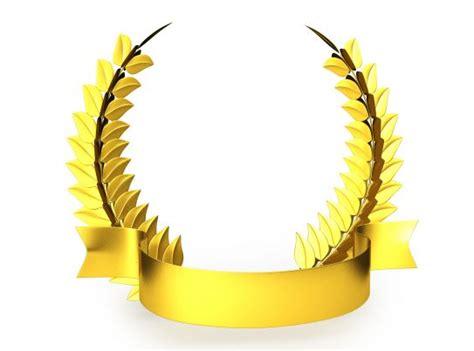 golden trophy laurel design stock photo powerpoint