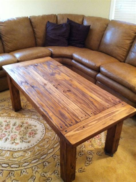 rustic coffee table  possibly replace  evil coffee