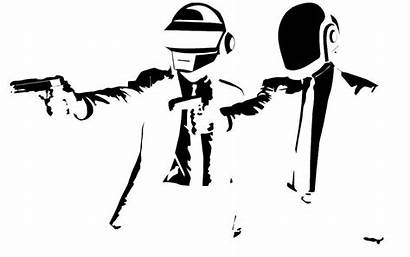 Punk Daft Pulp Fiction Stencil Stencils Templates