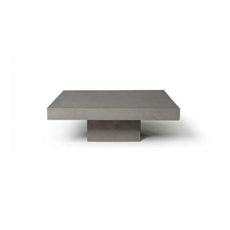 table basse carree beton ezooq