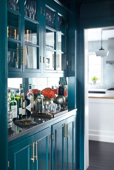25  best ideas about Teal Cabinets on Pinterest   Colored