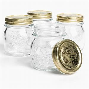 Bormioli Rocco Quattro Stagioni Canning Jars - 8 5 oz