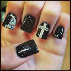 Nail designs tumblr step by for short nails with rhinestones