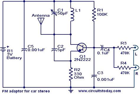 Adaptor Circuit For Car Stereo Electronic Circuits
