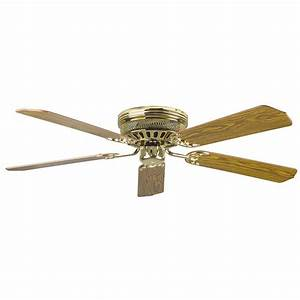 Radionic hi tech palilly in polished brass ceiling fan