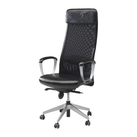 Fauteuil De Bureau Gamer - markus swivel chair glose black ikea