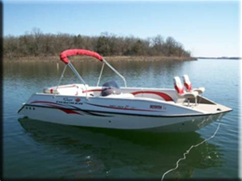 Deck Boat Fishing Package by H2o Sports Rental
