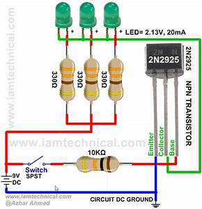 Npn Transistor 2n2925 As A Switch
