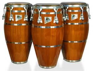 blue photo album percussion conga drums