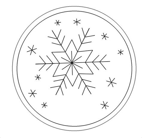 snowflake templates   printable sample