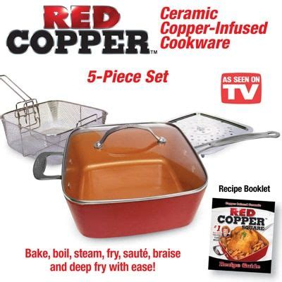 red copper cookware set  pc red copper cookware copper cookware set copper cookware