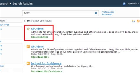 infoworker solutions almost excluding specific search results in sharepoint 2010