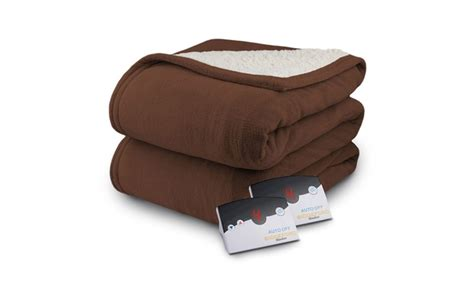 Biddeford Micro Plush Sherpa Electric Heated Blanket Queen Chocolate Electric Blanket On Memory Foam Mattress Topper Orvis Dog Blankets For Cars Nfl Team Fleece Rainbow Ripple Baby Tutorial Paper Doll Instructions What Is A Solar Pools Bald Eagle Best Picnic 2018 Uk