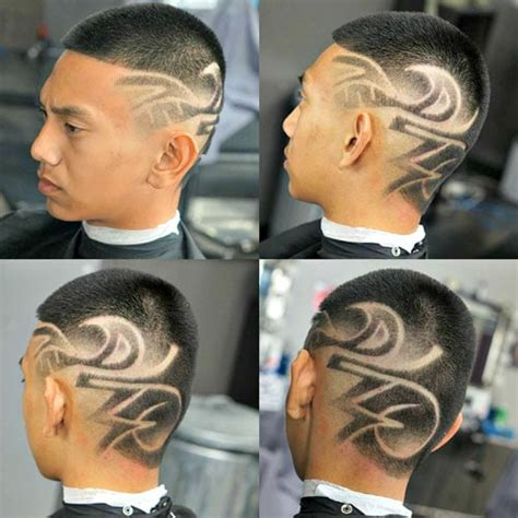 V Cut Hairstyle