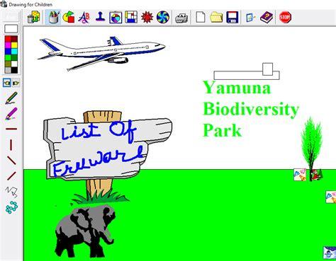paint software  kids  windows