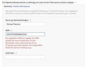 Iban Berechnen Postbank : google adsense und seine fehler 02 ~ Themetempest.com Abrechnung