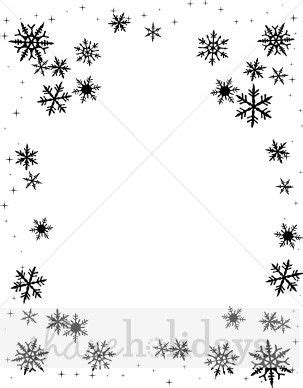 Snowflake Background Black And White by Snowflake Clipart Black Snowflake Background Snow