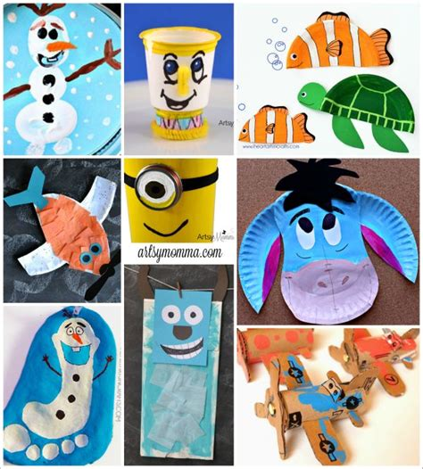 724 best artsy momma crafts amp recipes images on 483 | 70f70c0e63c13531edfd1410b80330a7 cup crafts disney theme