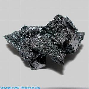 Very Odd Lump  A Sample Of The Element Boron In The