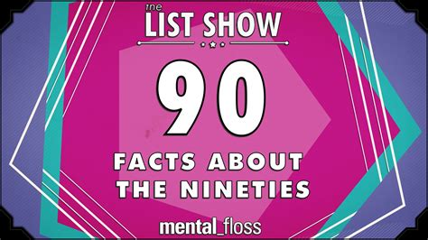 Mental Floss Provides an Impressive List of 90 Facts About ...
