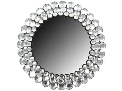 crystal gemstone accented mirror  hobby lobby
