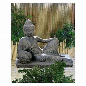 Buddha Figuren Garten Günstig : halbliegender buddha lavagu figuren skulpturen garten japanwelt ~ Bigdaddyawards.com Haus und Dekorationen