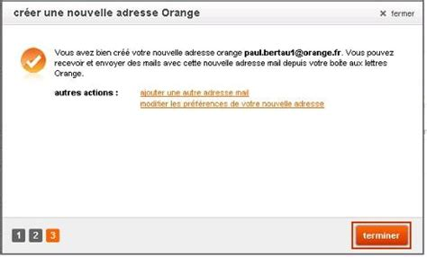 adresse si e air messagerie mail orange créer une nouvelle adresse mail