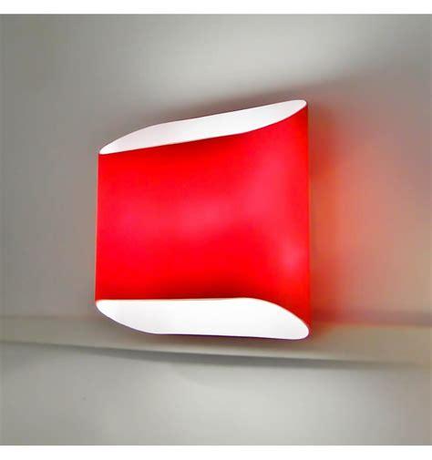 applique murale led design verre