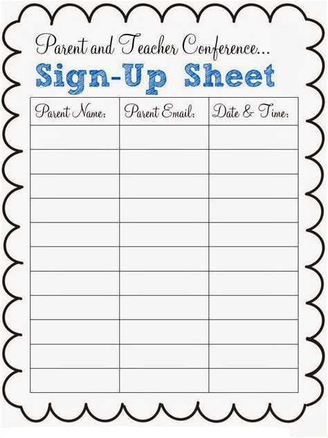 sign up sheets for preschool festival 740 | Halloween Sign Up Sheet Preschool Party (18)