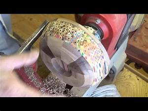 Woodturning at 54a #42 A pencil Bowl - YouTube