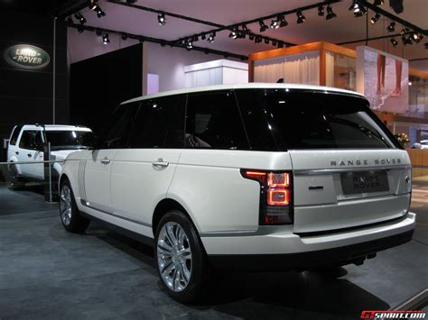 Detroit 2014 Range Rover Longwheelbase Gtspirit