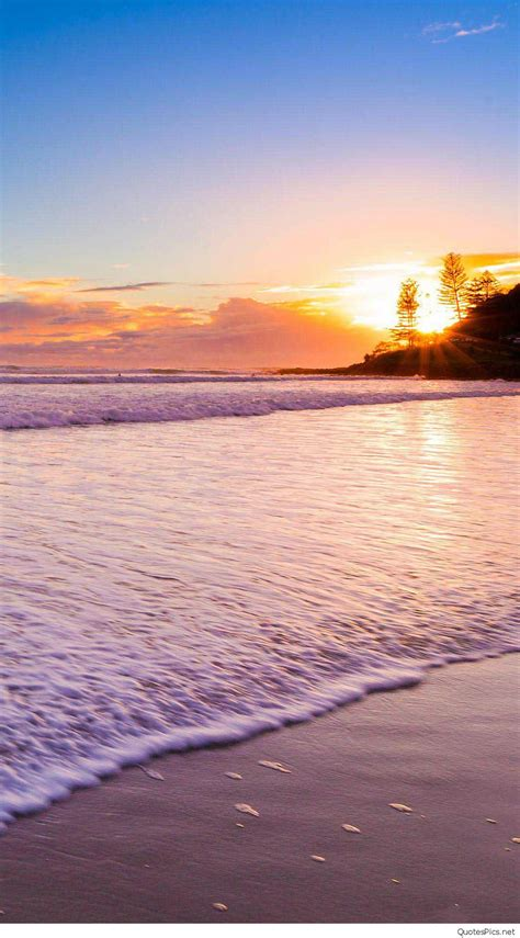 Beach Sunset Hd Wallpapers Iphone Mobile Phones