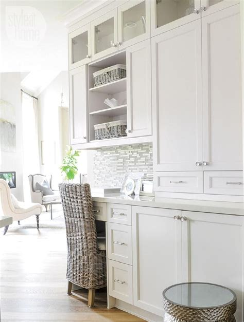 Kitchen Work Desk by Interior Soothing Neutral Family Home New House