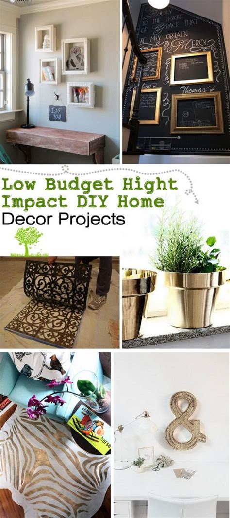 cheap  amazing diy home decor projects
