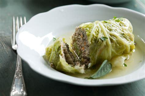 braised cabbage rolls recipe relish