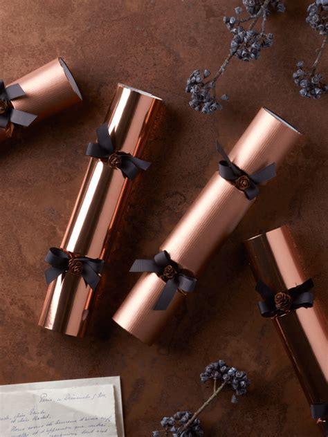 luxury copper crackers  images luxury christmas