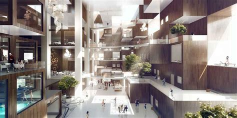 yongsan residential towers  cloud seoul  architect