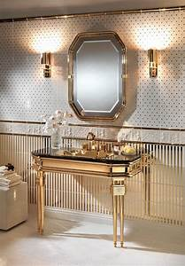 modern console tables for a luxury master bathroom With upscale bathroom vanities