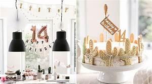 14 Geburtstag Feiern Ideen : stachelig sch ne kaktusparty f r einen 14 geburtstag jubeltage ~ Frokenaadalensverden.com Haus und Dekorationen