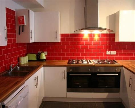 Red And White Kitchen Tiles  Rapflava