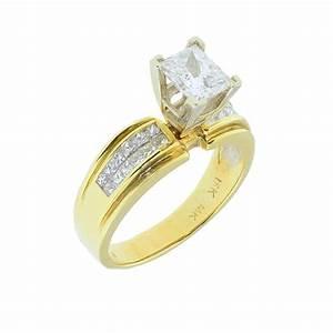 Wedding Rings Princess Cut Hd Gold Engagement Rings For ...
