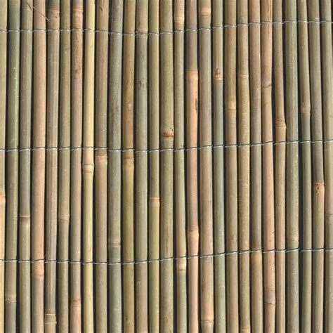 bamboo screen garden trend 1 8 x 3m round bamboo screen fencing bunnings warehouse
