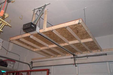 garage overhead storage garage ceiling storage diy