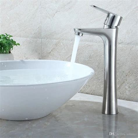 Modern Stainless Steel Bathroom Faucets by 2019 Modern 304 Stainless Steel Bathroom Sink Faucets